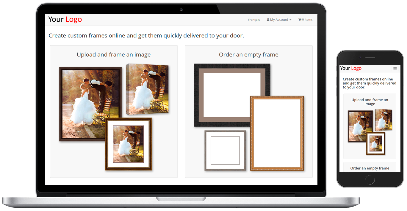 SimulArt Picture Framing Software - Prices, Visualization, and eCommerce